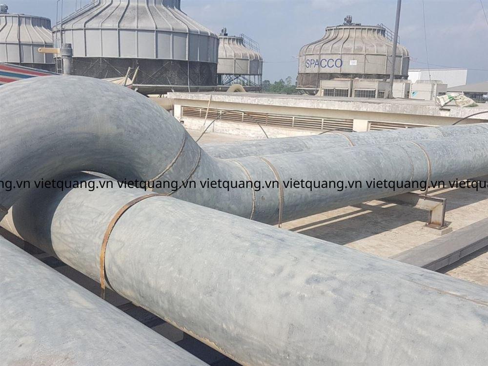 Các phương pháp vệ sinh đường ống công nghiệp cho hệ thống tháp giải nhiệt và lò hơi công nghiệp