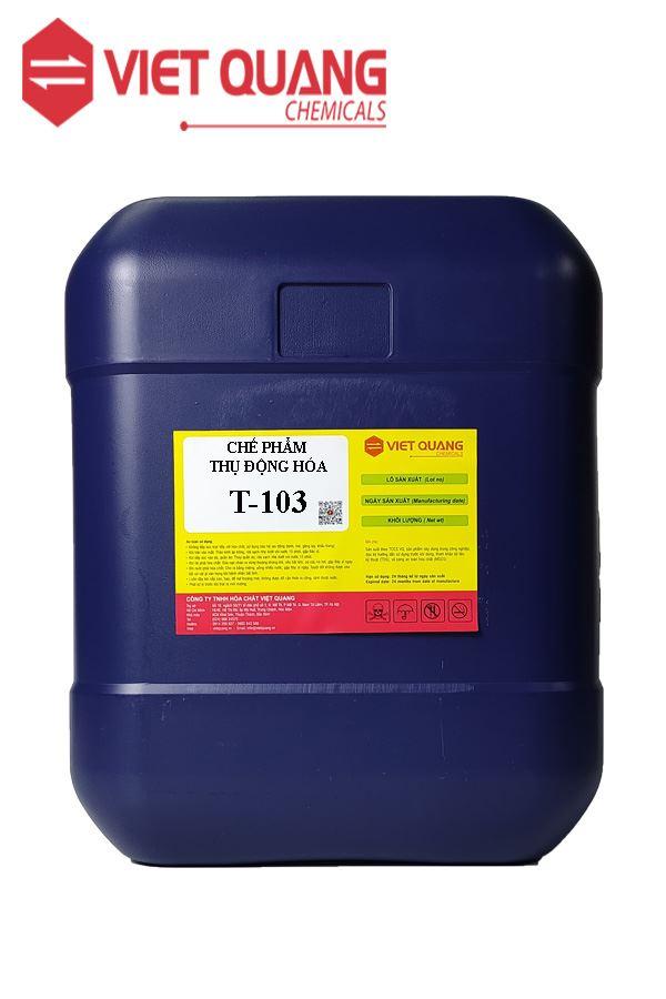 HÓA CHẤT THỤ ĐỘNG HÓA T-103