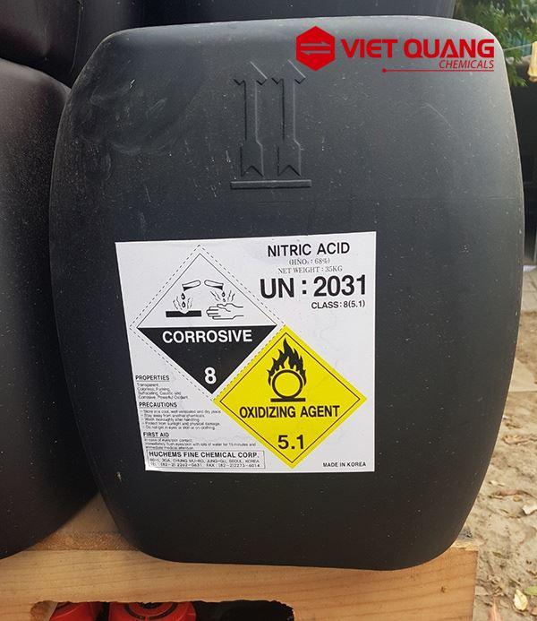 Ứng dụng của axit nitric NHO3 trong thực tiễn và những lưu ý