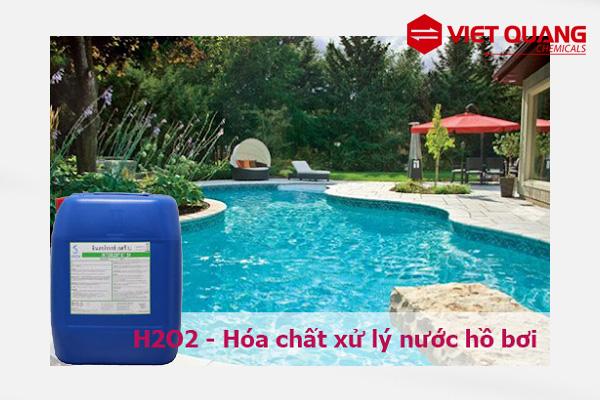 Hydrogen Peroxide là chất gì? khử trùng hồ bơi