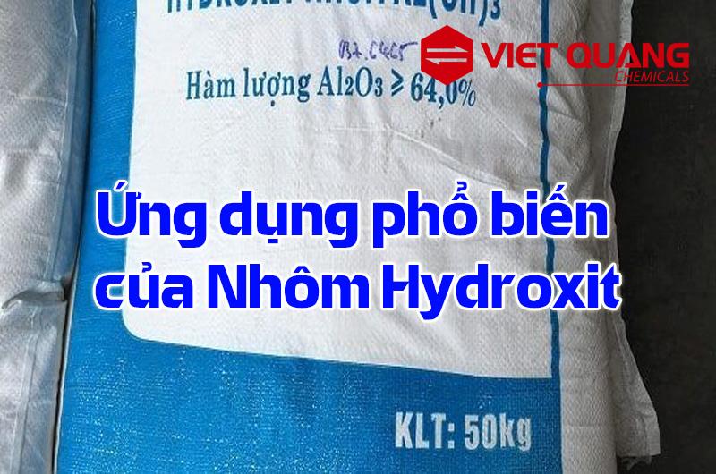 ứng dụng phổ biến của Hydroxit