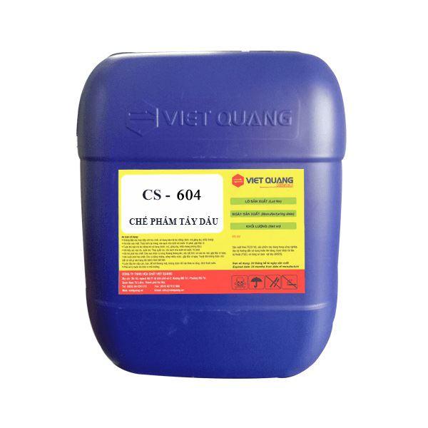 Hóa chất tẩy dầu điện giải CS-604